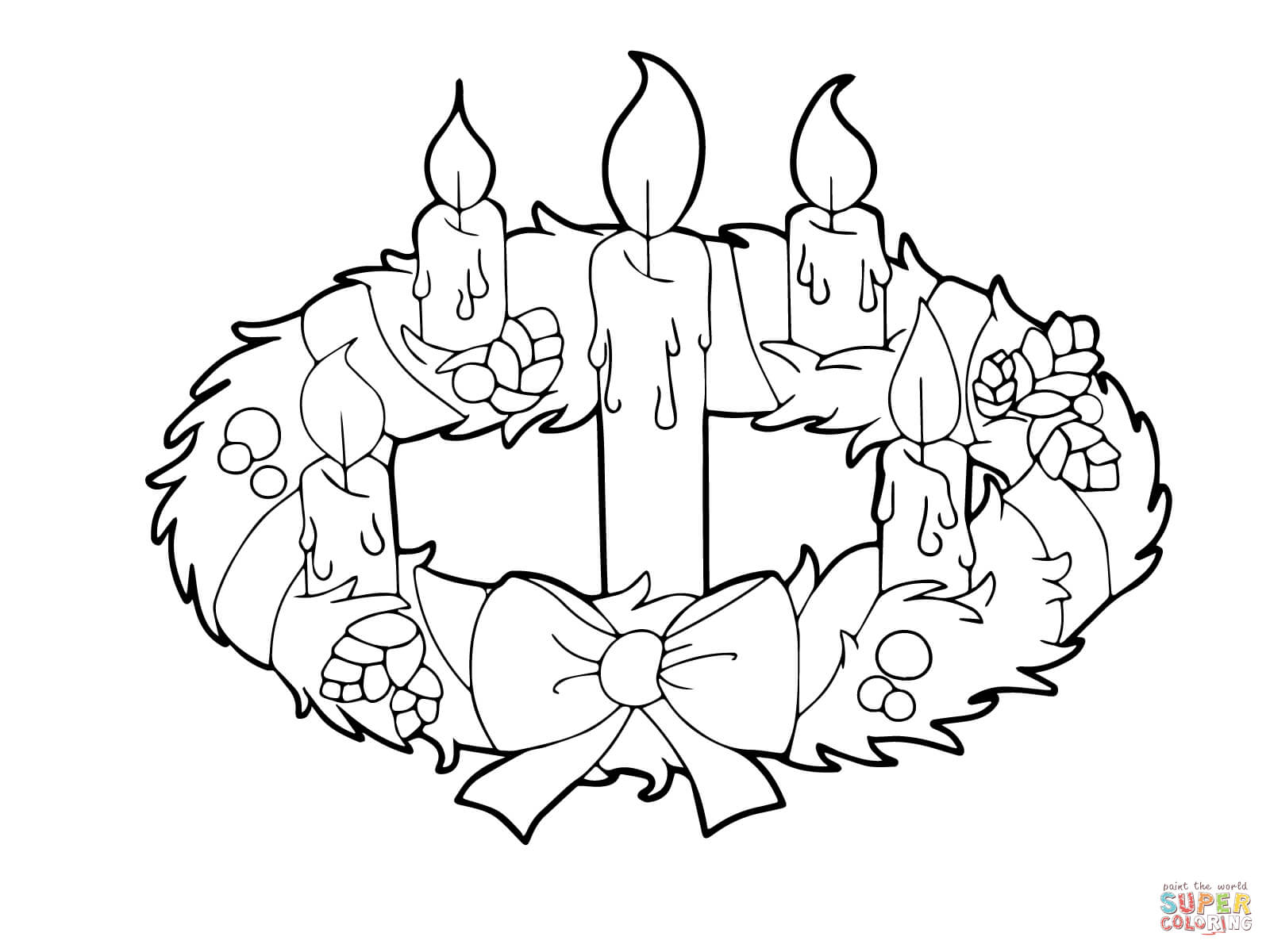 advent coloring pages for adults - photo#20