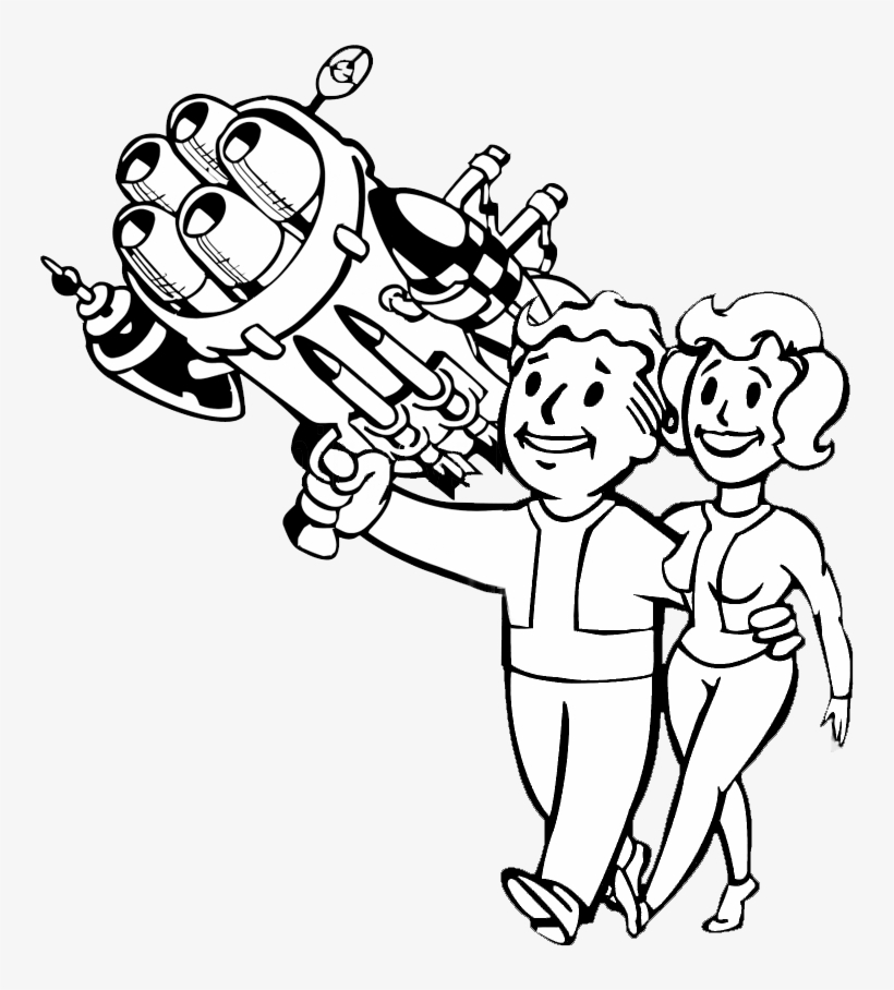 Hd Wallpapers Fallout 4 Coloring Sheets Wallpaper Desktop - Vault Boy -  Free Transparent PNG Download - PNGkey