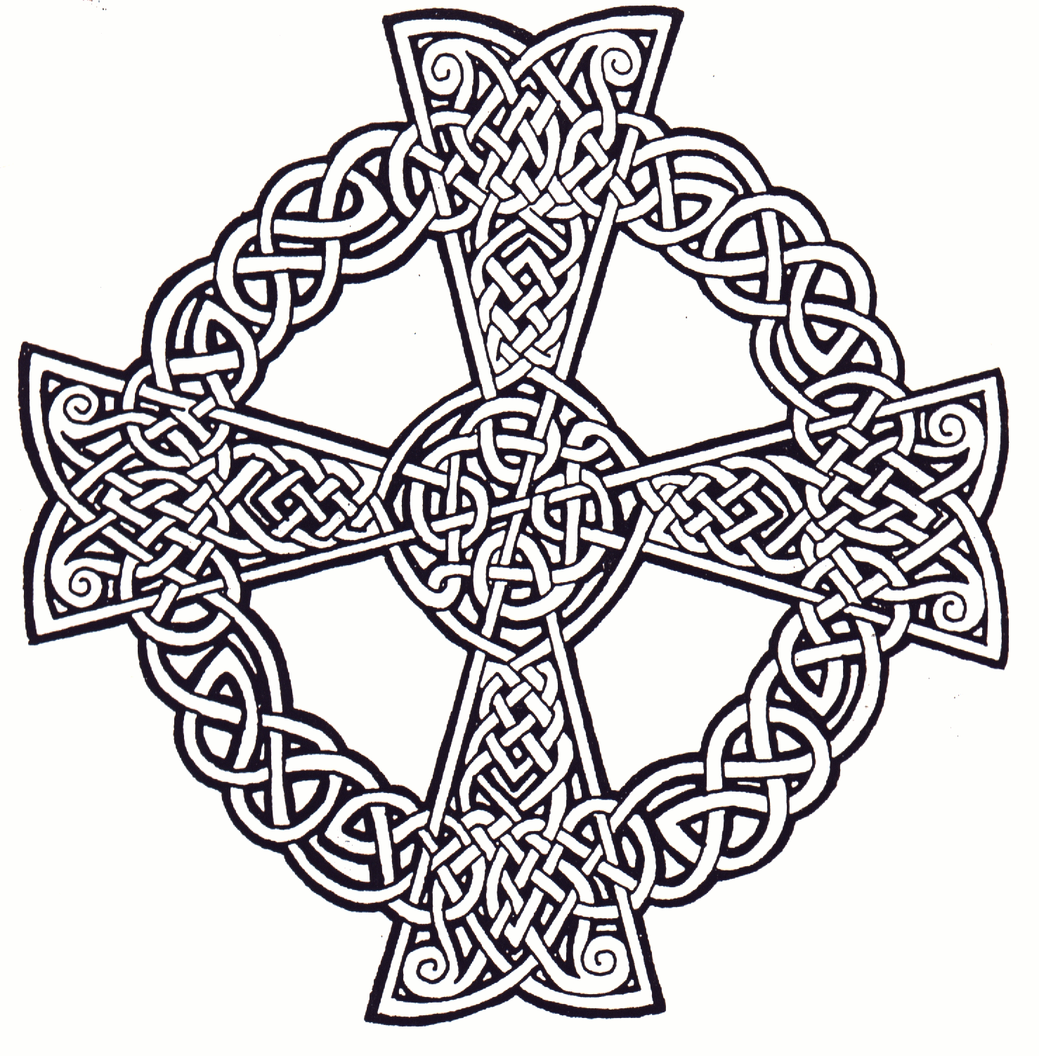 celtic cross coloring sheets | DIY, when I feel creative ...
