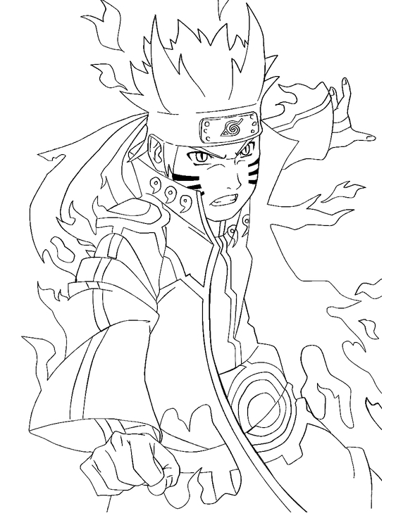 Naruto #38091 (Cartoons) – Printable coloring pages