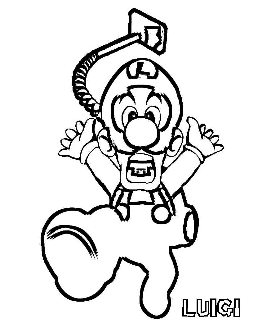 luigi mansion Colouring Pages | Mario coloring pages, Super mario coloring  pages, Minion coloring pages