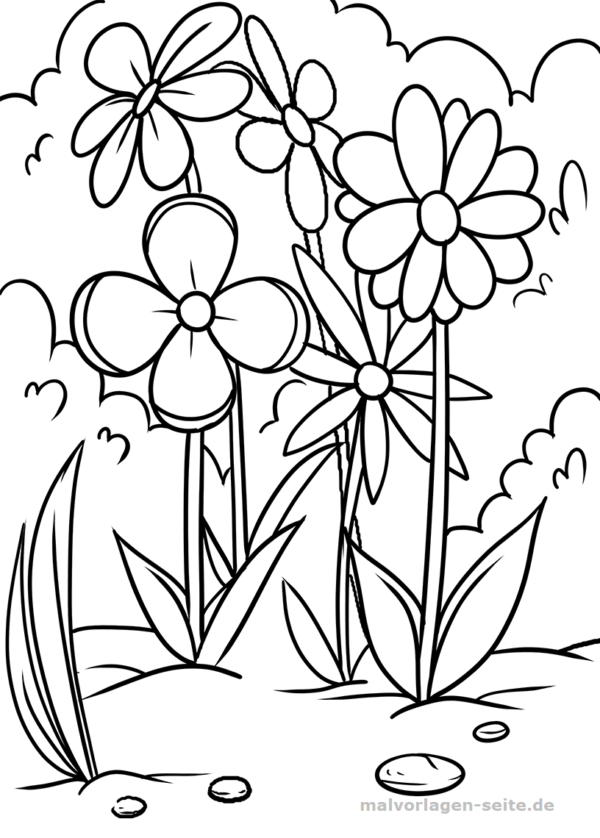 meadow coloring pages  coloring home