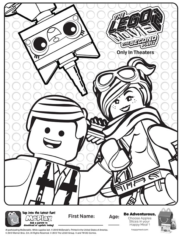Lego Movie 2 Coloring Pages Coloring Home