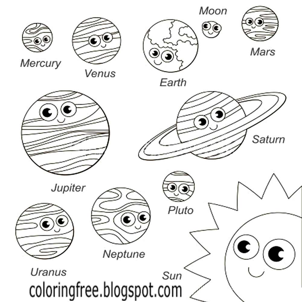 Free Coloring Pages Printable Pictures To Color Kids Drawing Ideas Planet And Space Solar System Coloring Pages Free School Learning Coloring Home