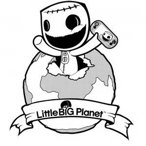 Little Big Planet Coloring Page Coloring Home