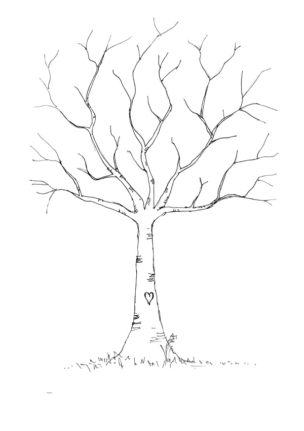 Bare Tree Template to Download & Print