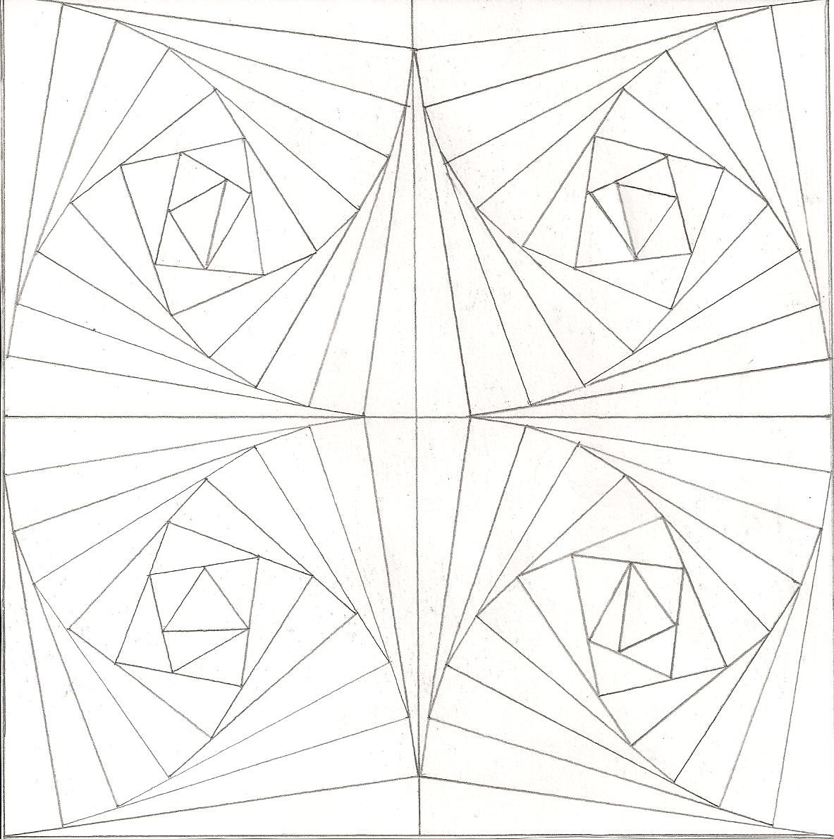 Coloring pages illusions