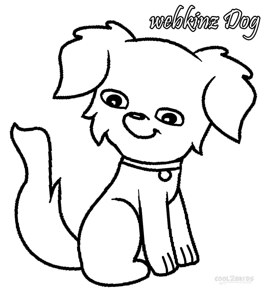 webkinz coloring pages free - photo#16