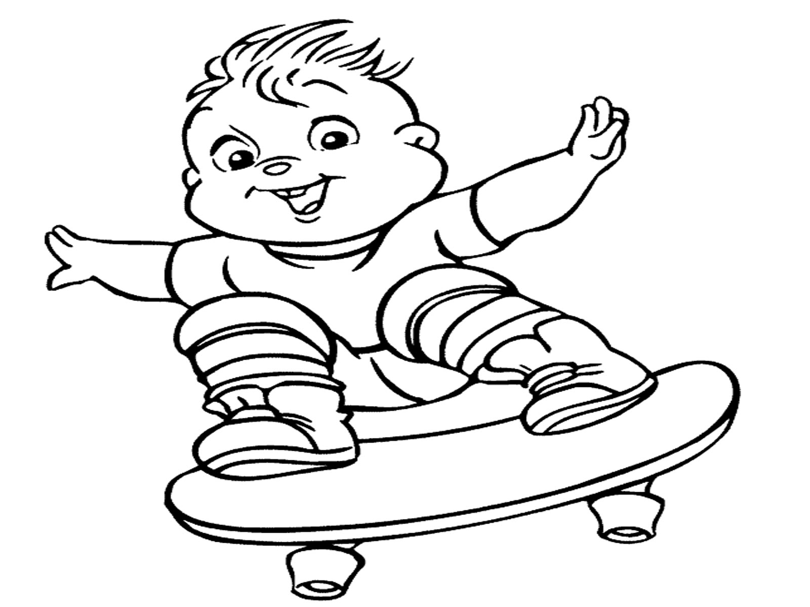 Coloring Pages Alvin And The Chipmunks 2 - Coloring Home