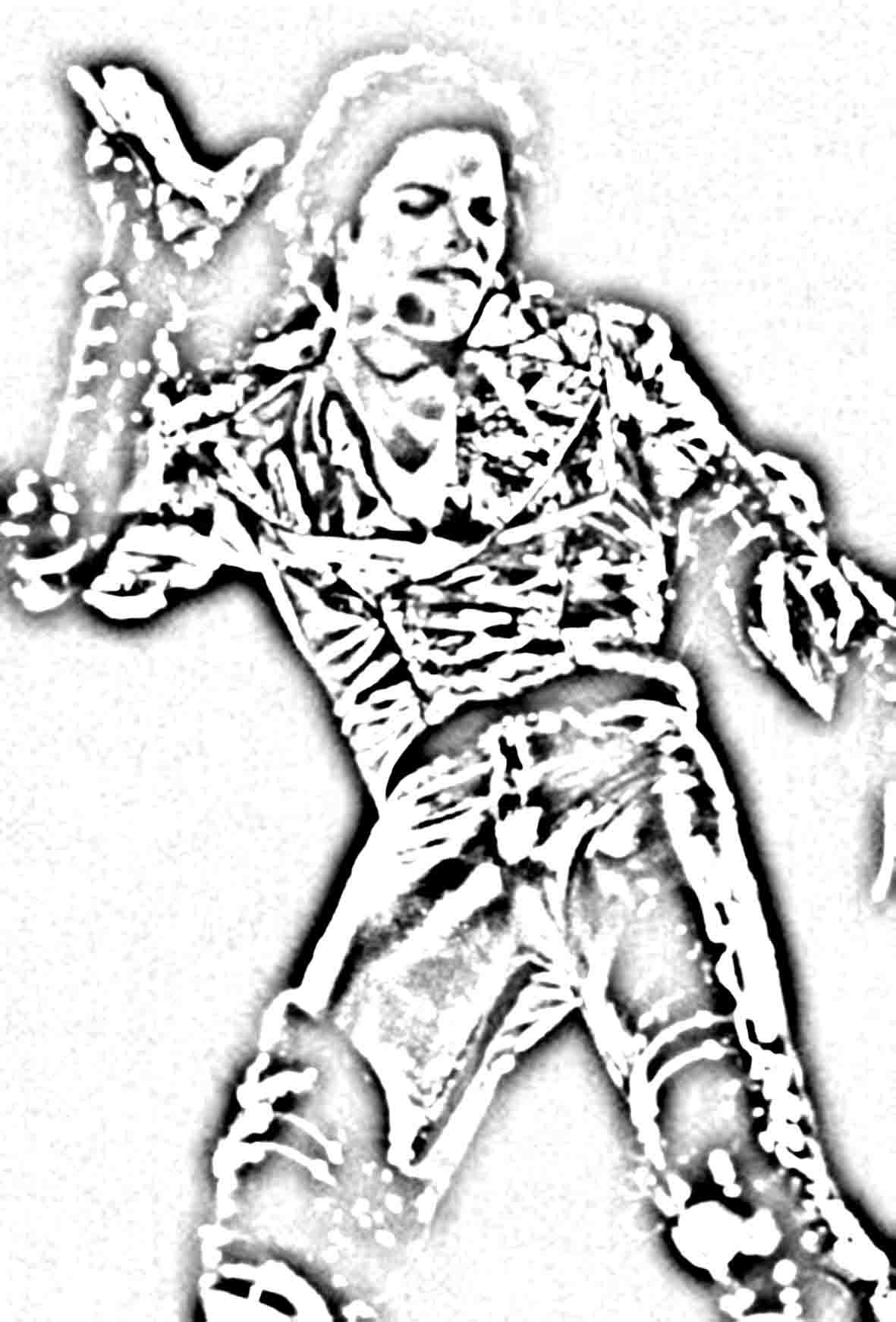 Printable Michael Jackson Coloring