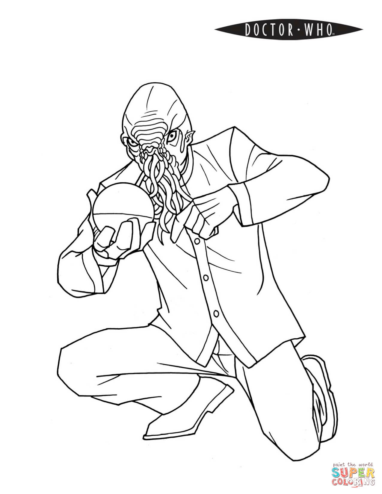 dr who coloring page - doctor who coloring page coloring home