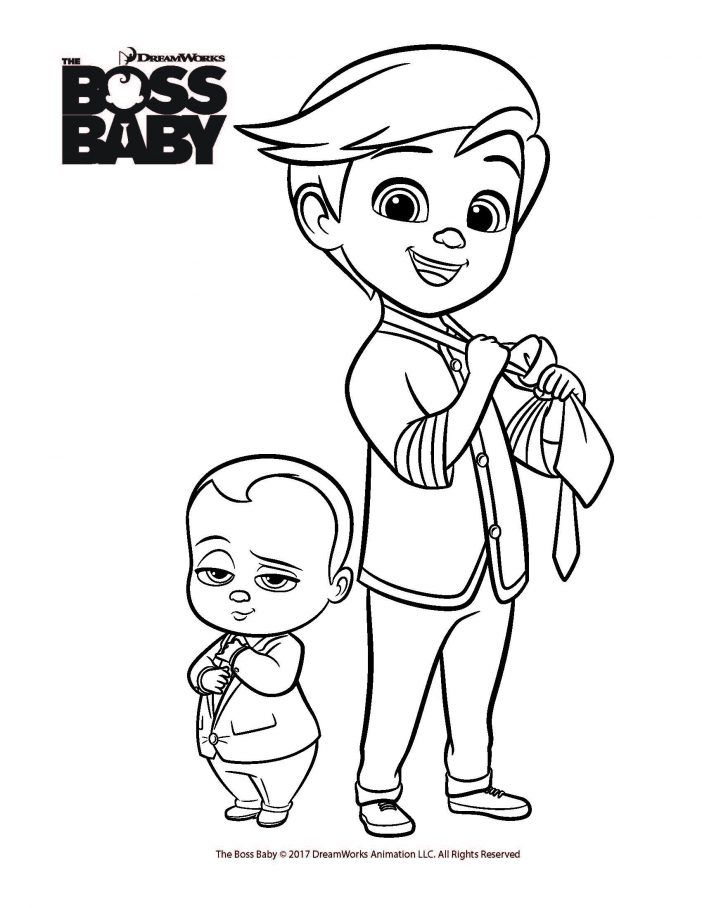 Boss Baby printables | Baby coloring pages, Baby movie, Boss ...