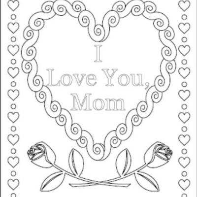 Creative I Love You Mom Coloring Page, Fresh Coloring Pages I Love ...