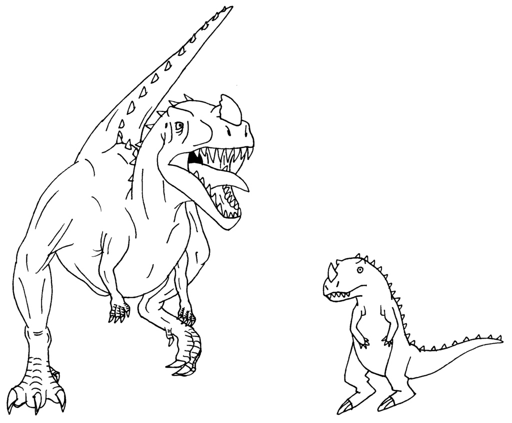dinosaur king coloring pages - photo#15
