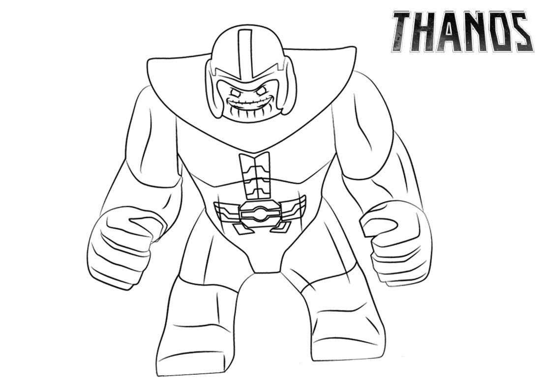 - Thanos Coloring Pages - Coloring Home