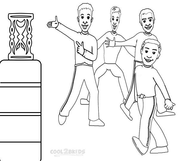 free wiggles coloring pages - photo#21
