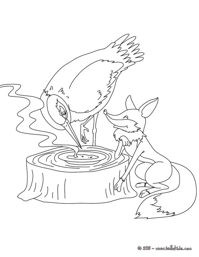 grasshopper and ant coloring pages - photo#13