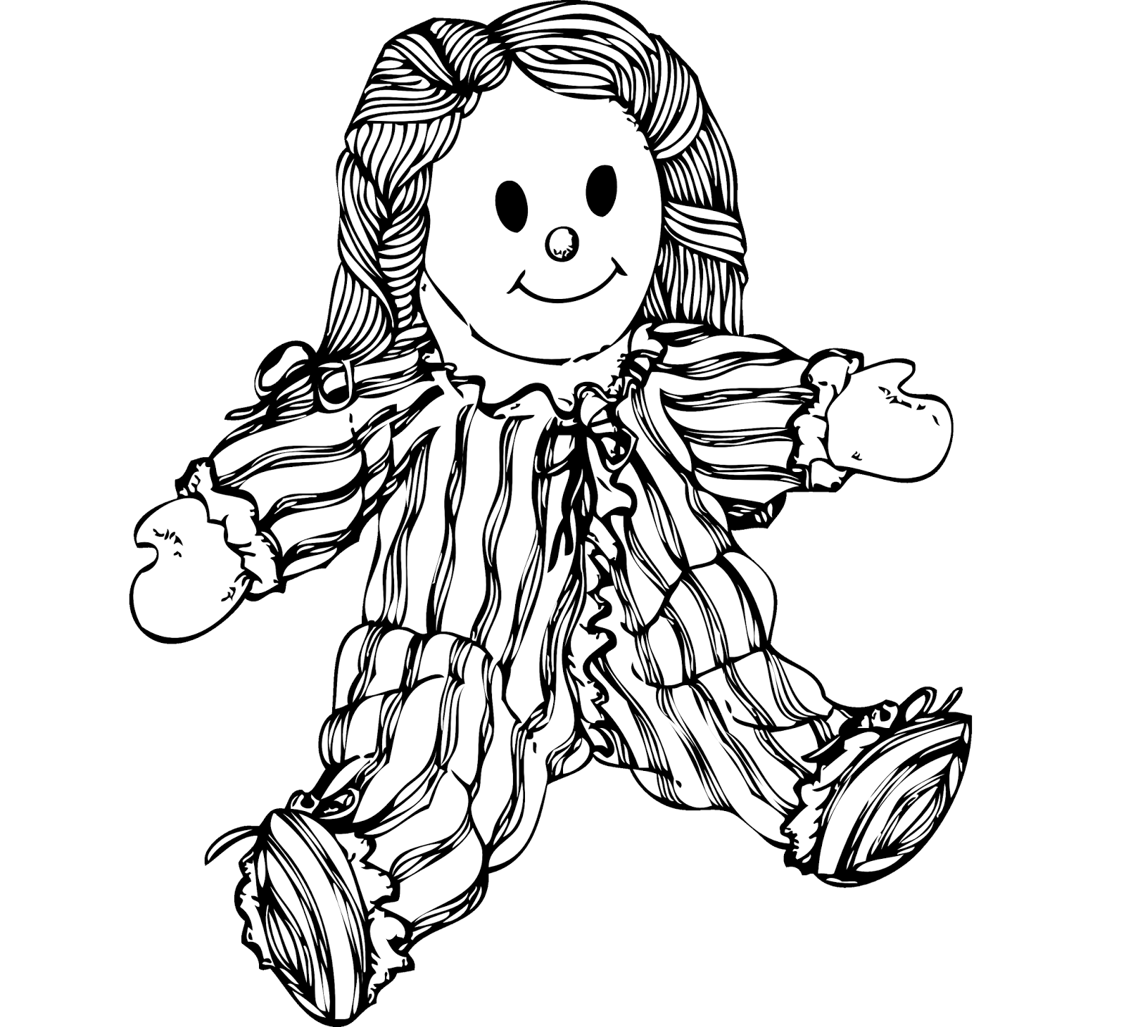 china dolls coloring pages - photo#3