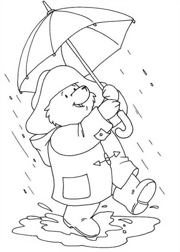 Rainy Day Coloring Pages Free Coloring Home Rainy Day Coloring Pages
