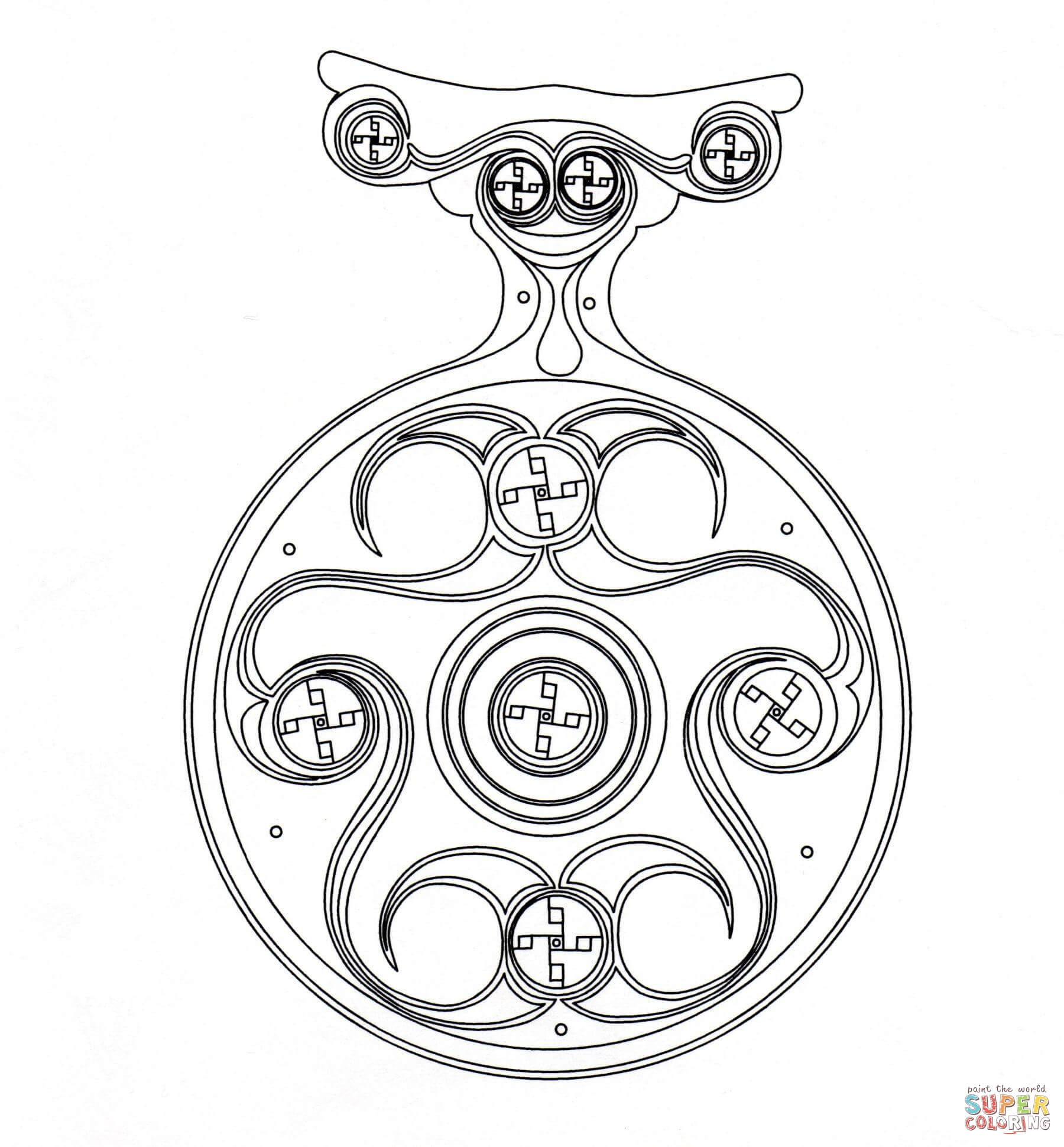 celtic art coloring pages free coloring pages - Celtic Coloring Pages For Adults