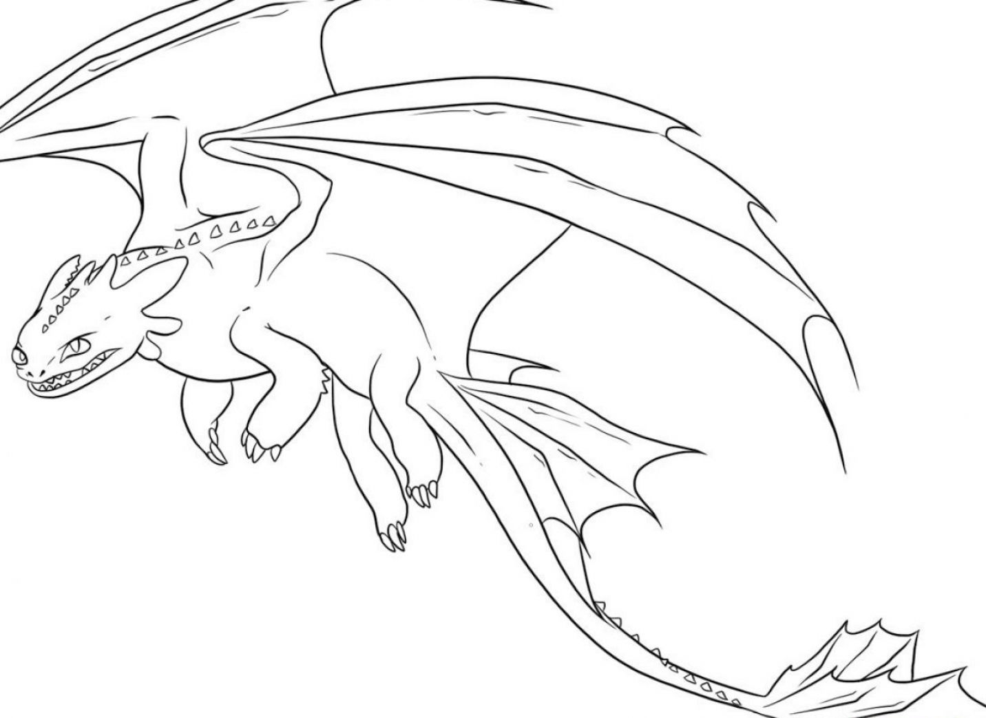 Baby Dragon Flying Coloring Page - Coloring Home