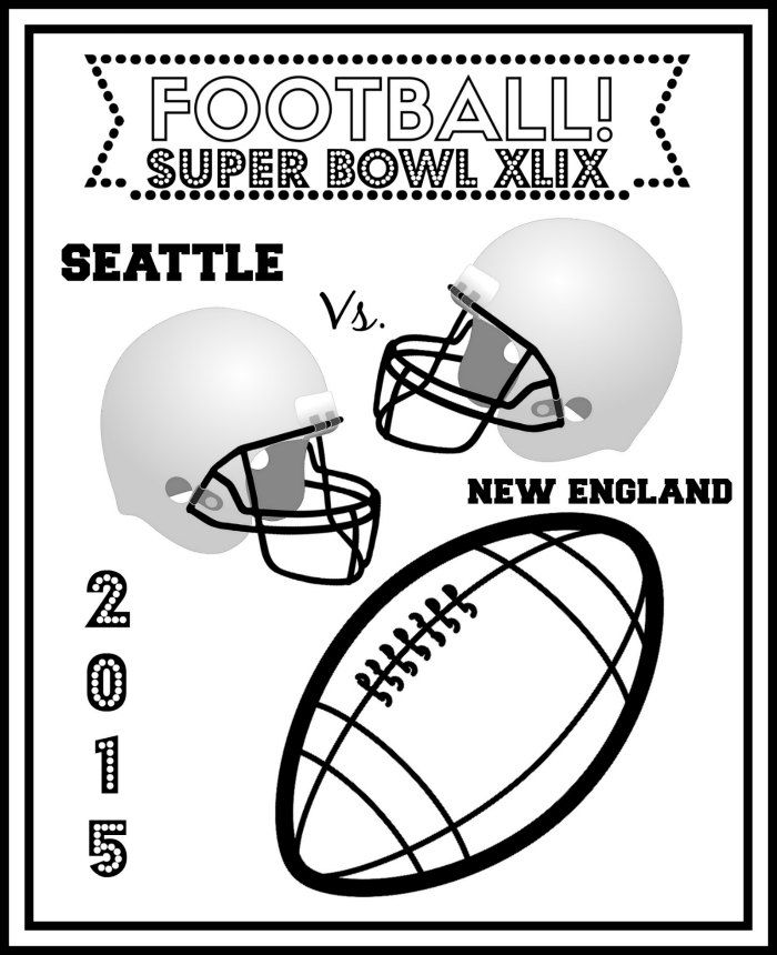 Free Superbowl Coloring Pages Coloring Home