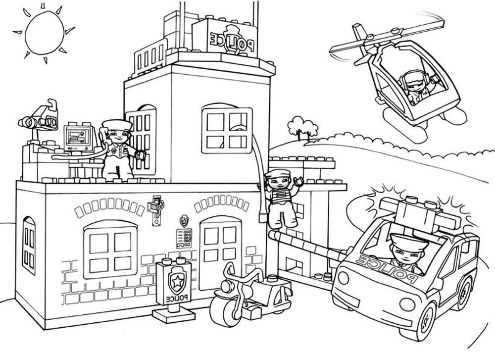 Lego City Free Printable Coloring Pages - Coloring Page ...