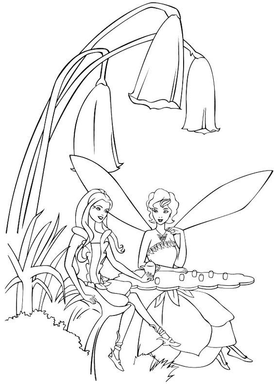 Fairytopia Coloring Pages  Coloring Home
