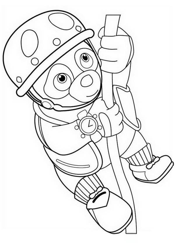 Special agent oso printable coloring pages coloring home for Oso coloring pages