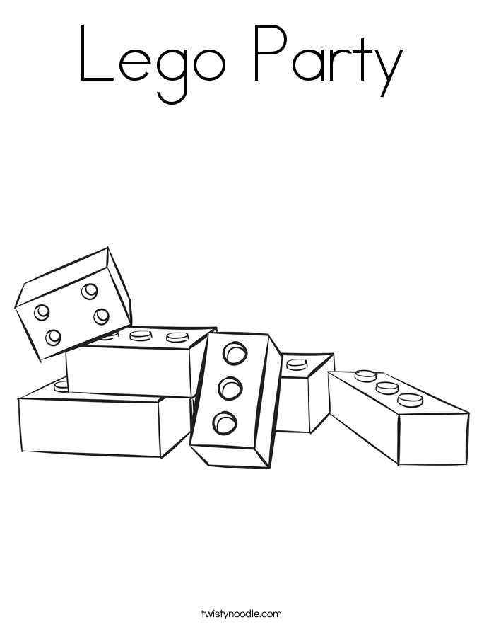 12 Pics of LEGO Brick Coloring Page - LEGO Movie Coloring Pages to ...