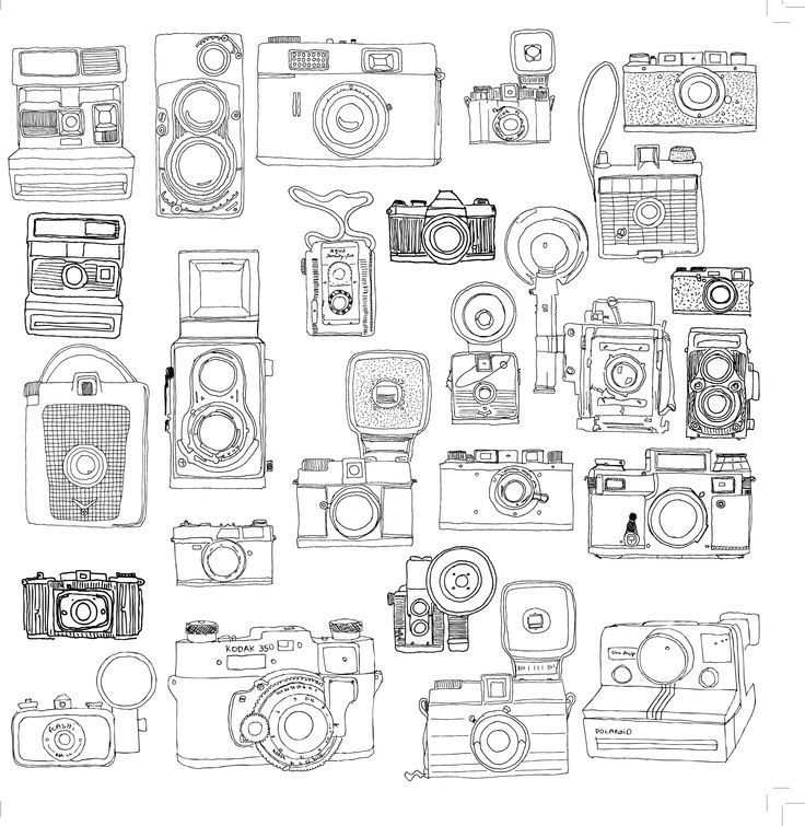 camera coloring pages - photo#32