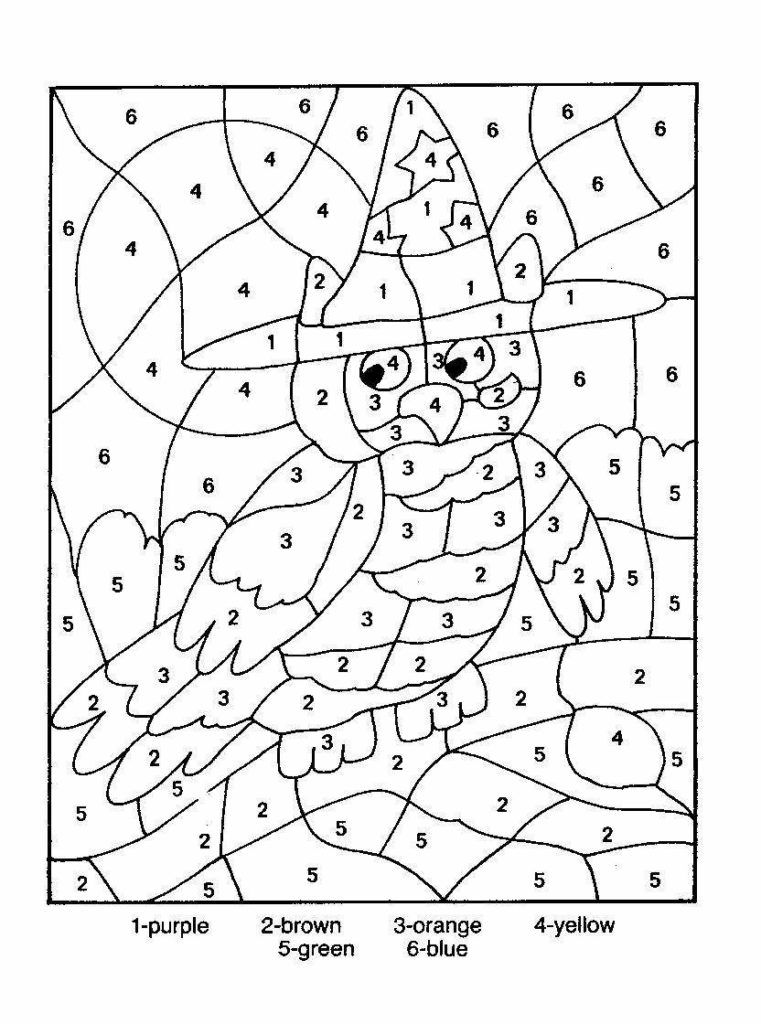 integer coloring activity pages - photo#34