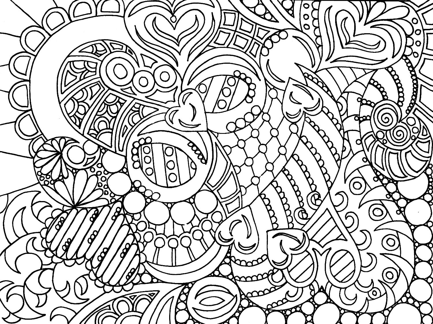 Co Colouring In Sheets Detailed - Amazing of simple coloring pages for adults for adult co 3223