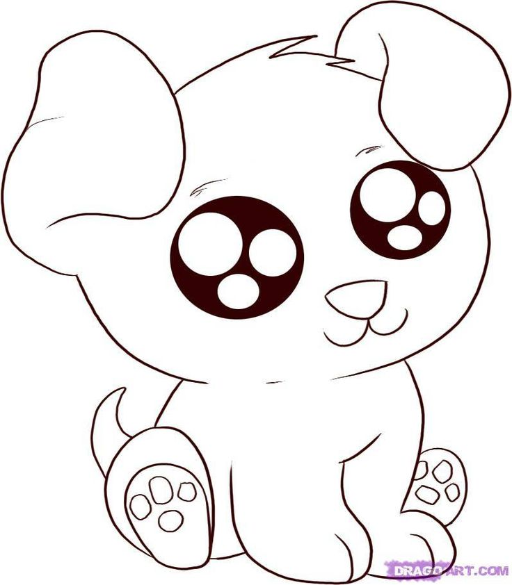 Cute Anime Animals Coloring Pages Coloring Home