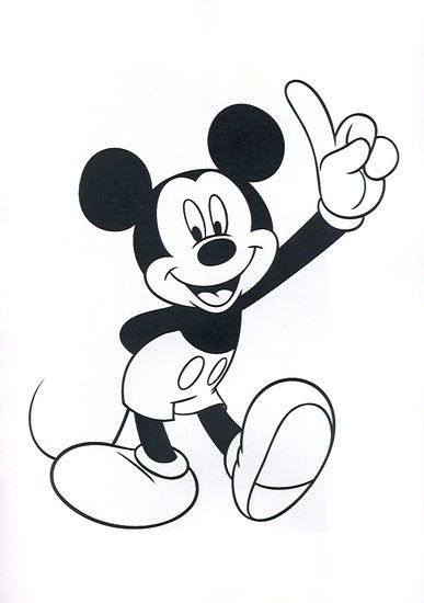 Disney Mickey And Minnie Heads Coloring Pages - Coloring Home