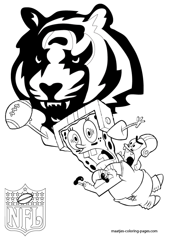 bengal logo coloring pages - photo#8