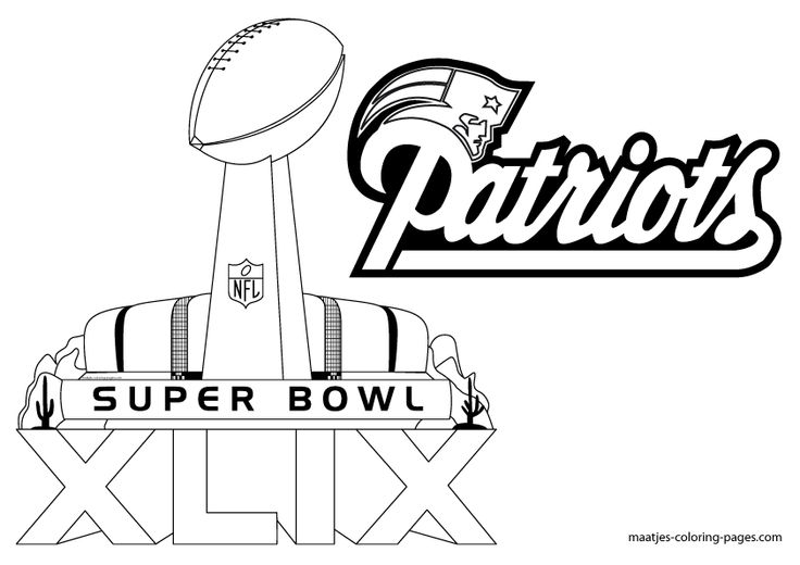 football coloring pages patriot - photo#18