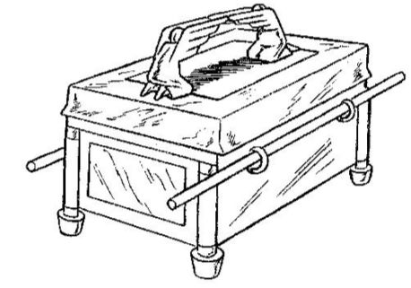 coloring pages ark of the covenant | Ark Of The Covenant Coloring Page - Coloring Home