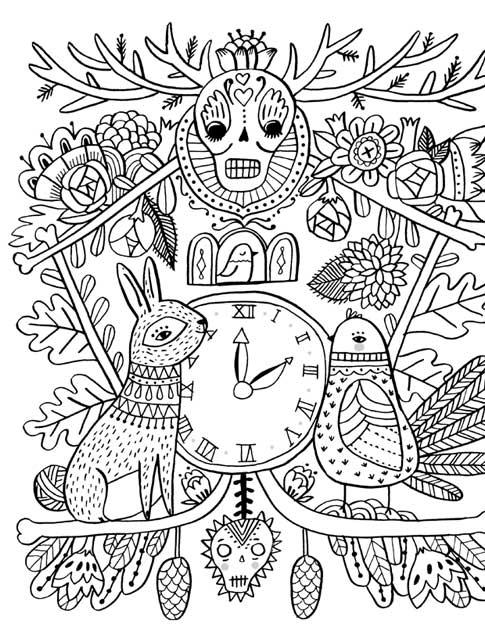 Indie Coloring Pages - Coloring Home