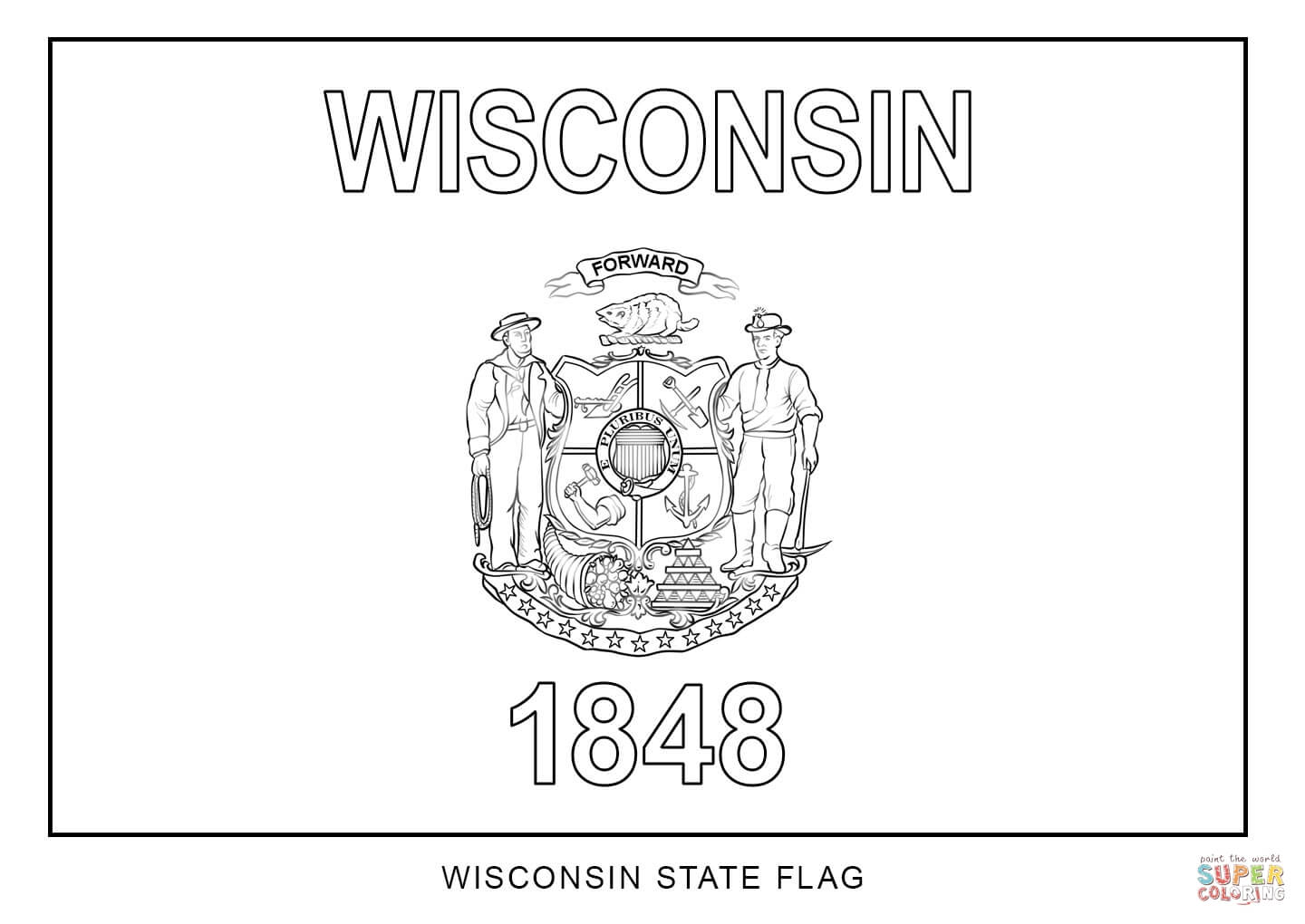 10 Pics Of Wisconsin State Bird Coloring Page