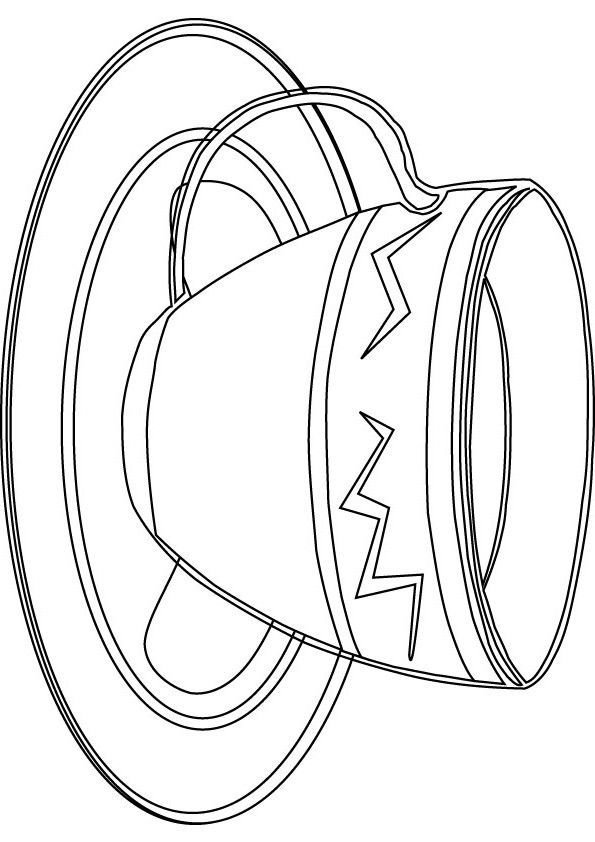 It's just a picture of Astounding Teacup Coloring Pages