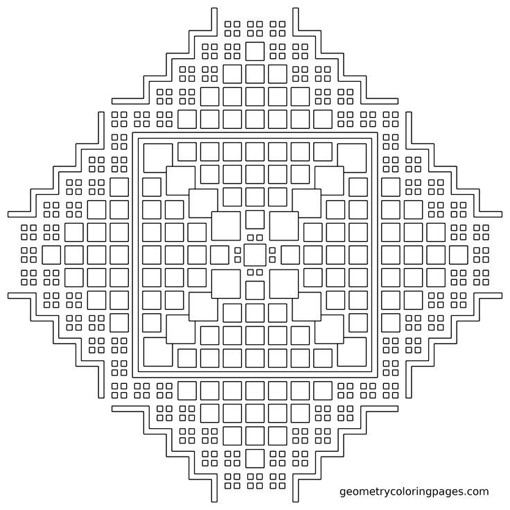 free coloring pages fractals printable - photo#13