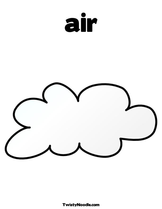 free coloring pages of clouds - photo#19