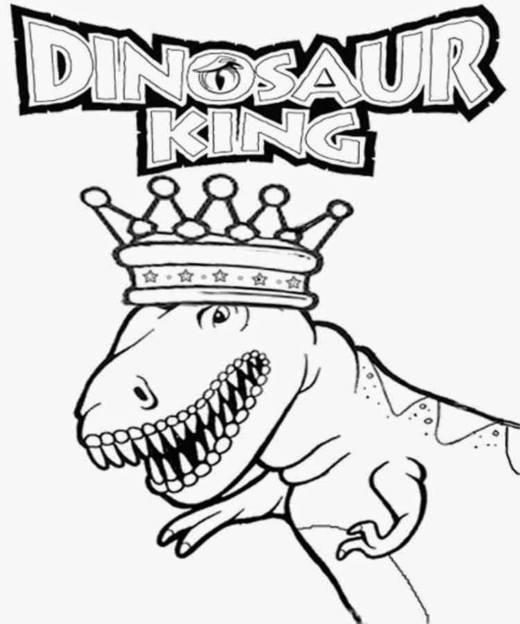 The Dinosaur King Coloring Pages - Coloring Home