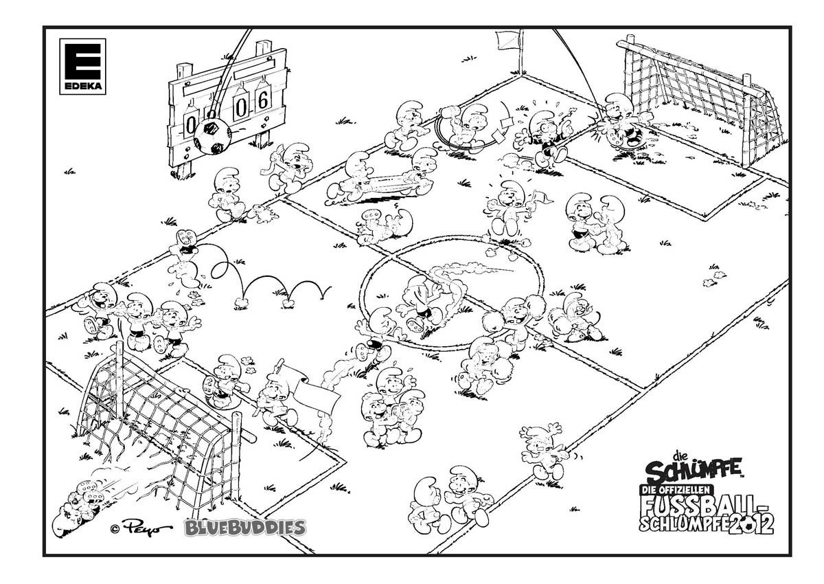 printable coloring soccer pages - photo#34