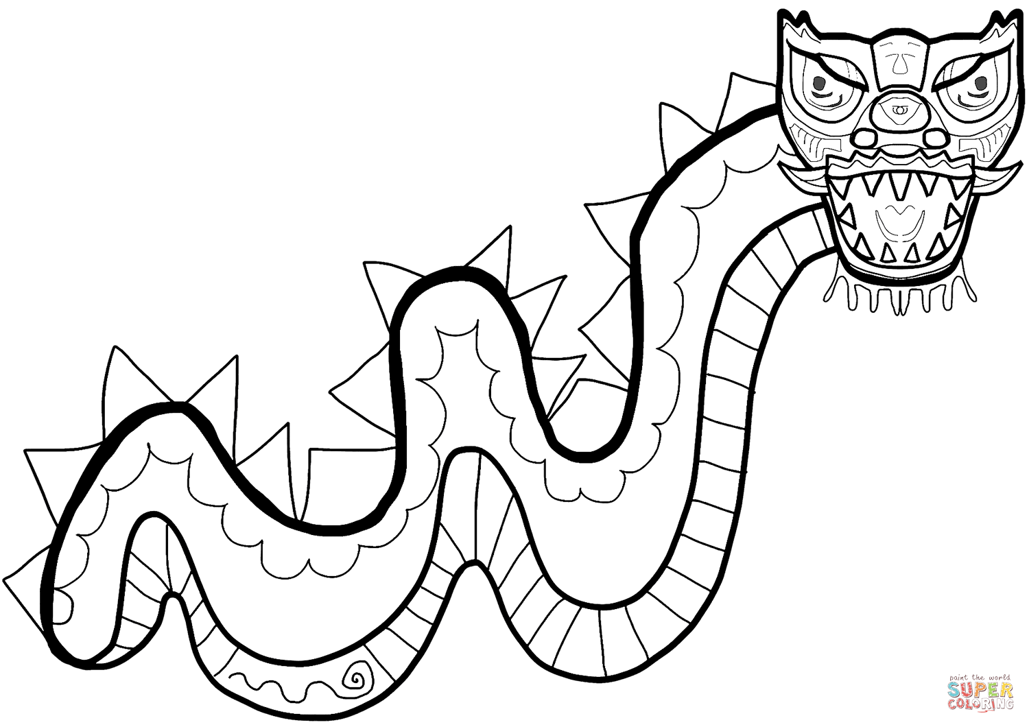 Chinese New Year Coloring Pages - Coloring Home