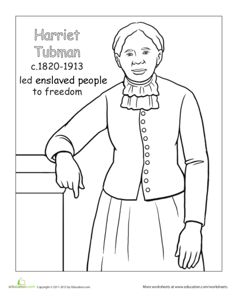 coloring pages for sojourner truth - photo#23