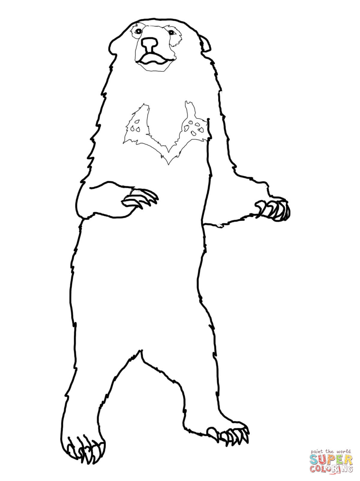 Brown Bear, Brown Bear, What do You See coloring page | Free ...