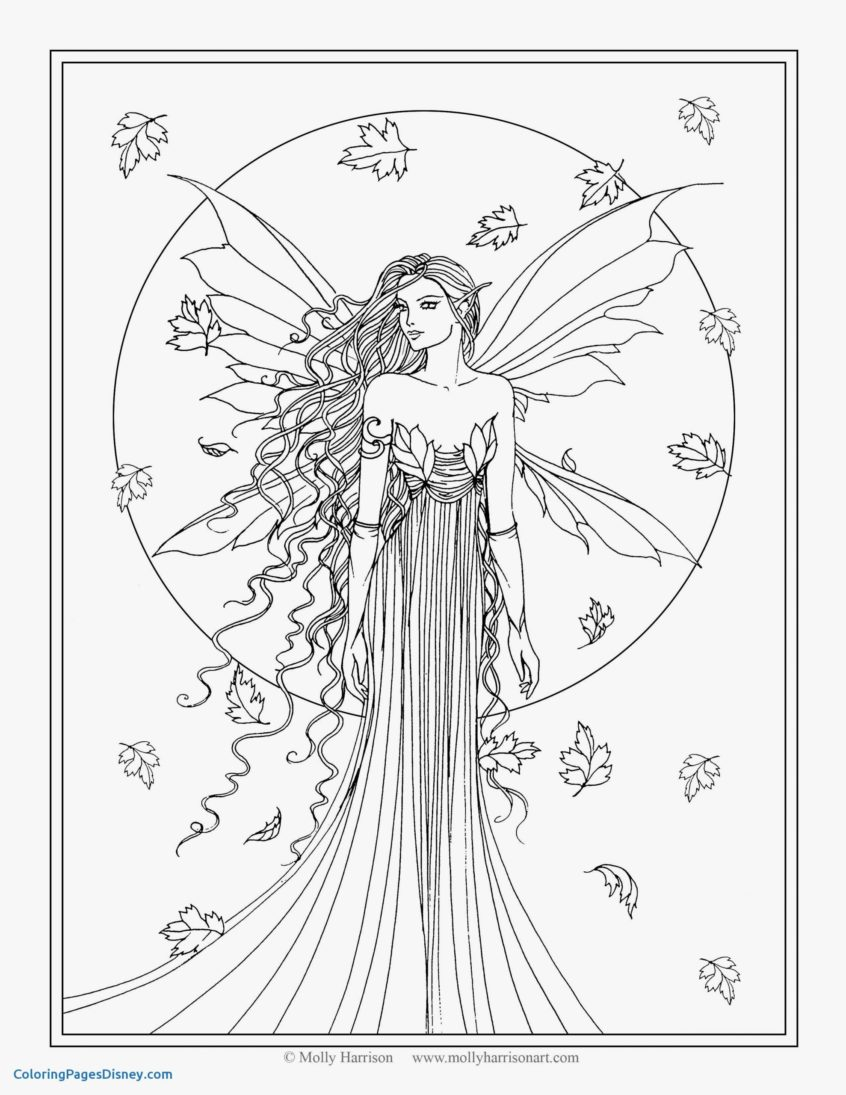 Coloring Page ~ Free Printable Fairy Coloring Pages For Kids Page ...