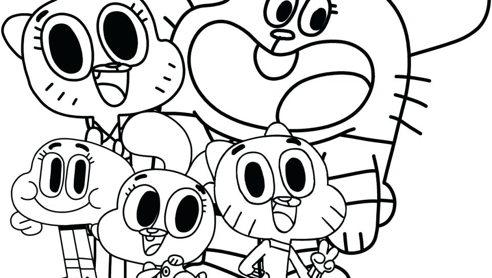 Coloring Pages Cartoon Network - Coloring Home